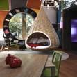 Nestrest hanging pod bed..Revolving Kitchen And Hanging Bed- Otimo APT