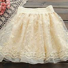 [gryxh3600230]Sweet noble princess embroider lace skirt