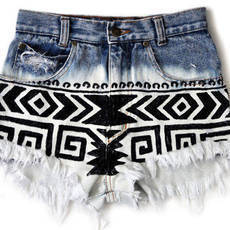 Hot Pants Ethnic I - Punk Lace