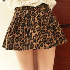 [grzxy6600392]European Style Sexy Leopard Print Skirt | cheershop - Clothing on ArtFire