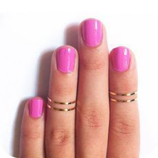 Fashion Polished Simple Ring just $5.9 in ByGoods.com