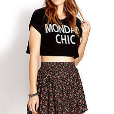 Sweetest Rose Skater Skirt