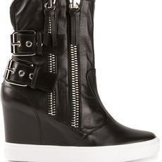 Giuseppe Zanotti Design Wedge Ankle Boots - Julian Fashion - Farfetch.com.br