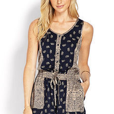 Life in Progress Paisley Romper