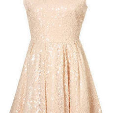 Allover Sequin Prom Dress - Dresses - Clothing - Topshop