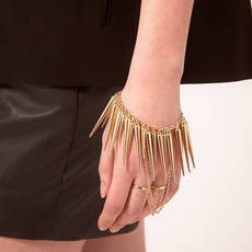ASOS Double Finger Spike Hand Harness