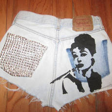 Audrey Hepburn Shorts by JuliLand on Etsy